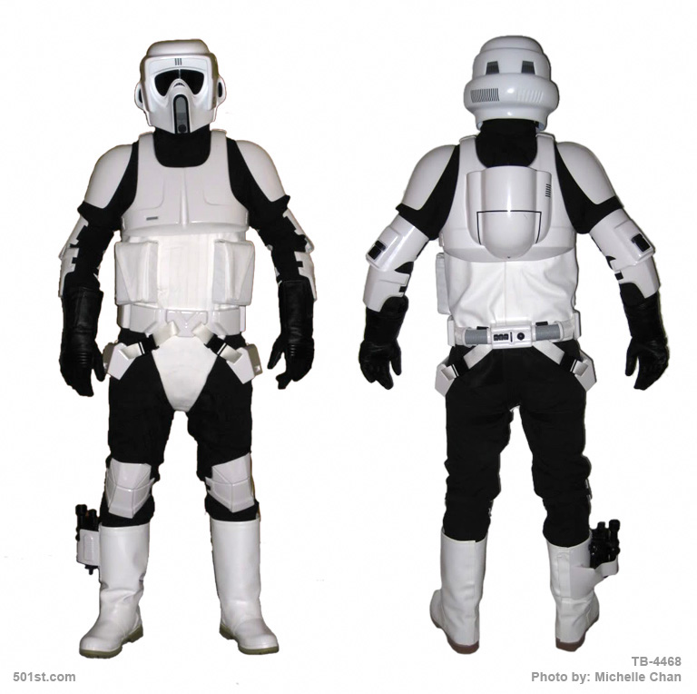 Costume Reference Library Biker Scout
