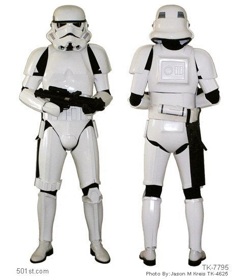 how to make a stormtrooper costume 501st